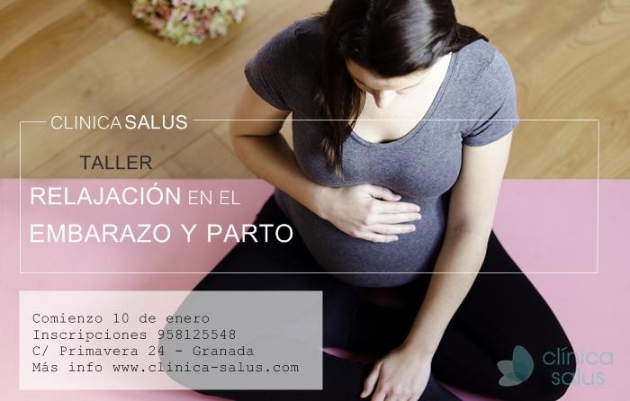 relajacion en el embarazo y parto salus
